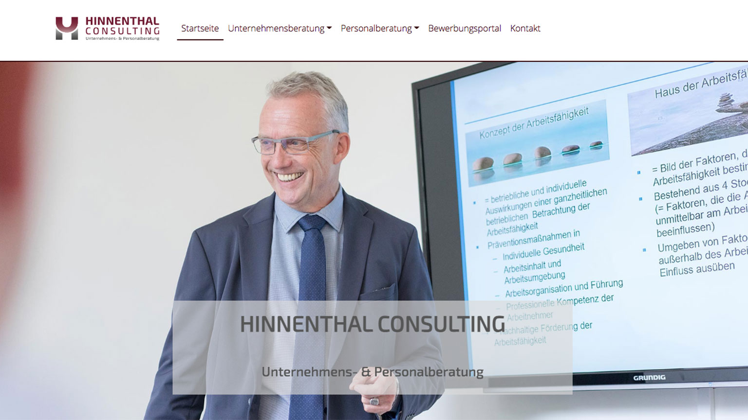 Website Hinnenthal Consulting