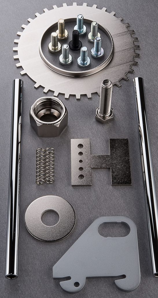 Hesse Metall Einzelteile Produktfotografie