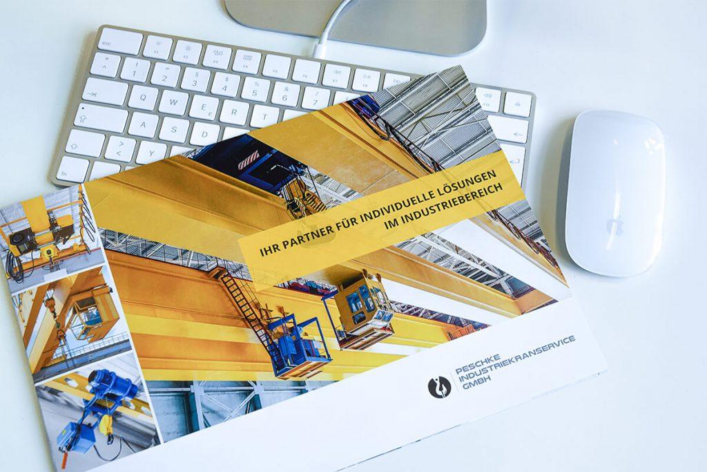 Peschke Industriekranservice Broschüre