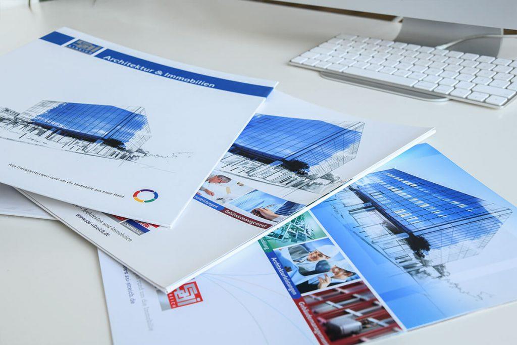 Imagebroschüre für Streich - Architektur & Immobilien