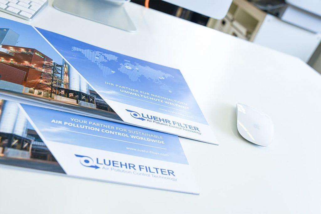 Luehr Filter Broschüre