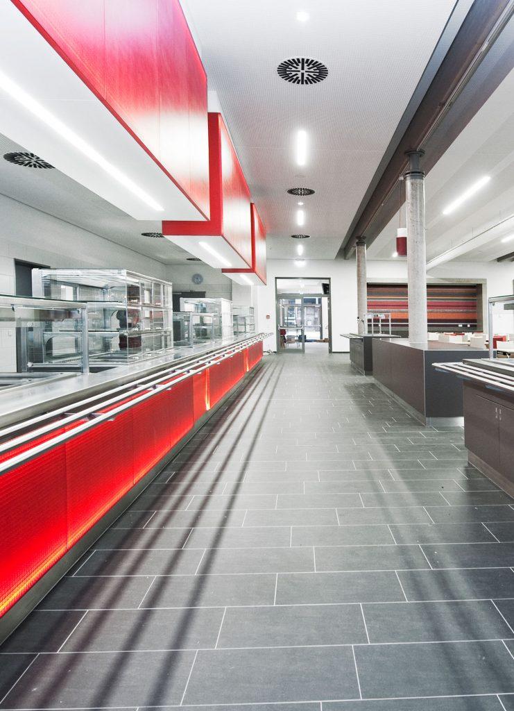 Mensa Architektur Fotografie Werbestudio Hild