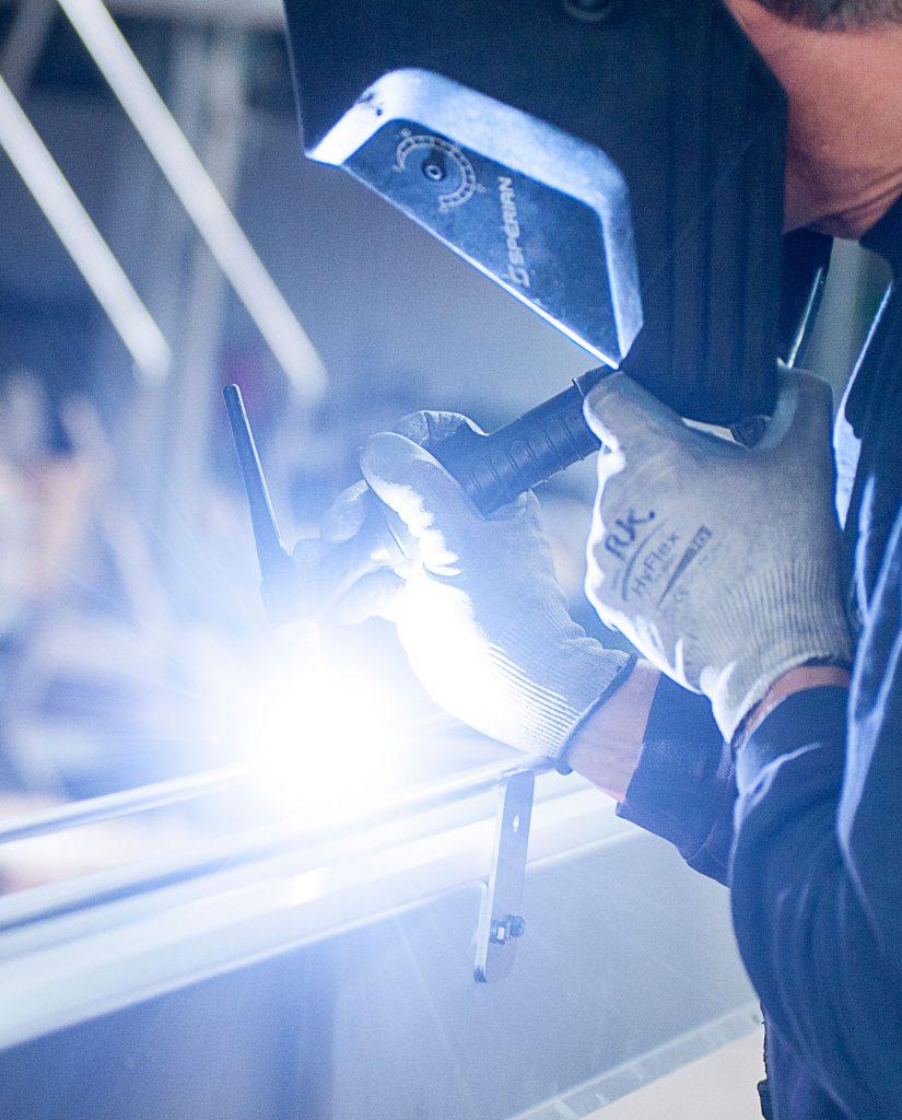 Quander Lasertechnik Arbeitsprozess
