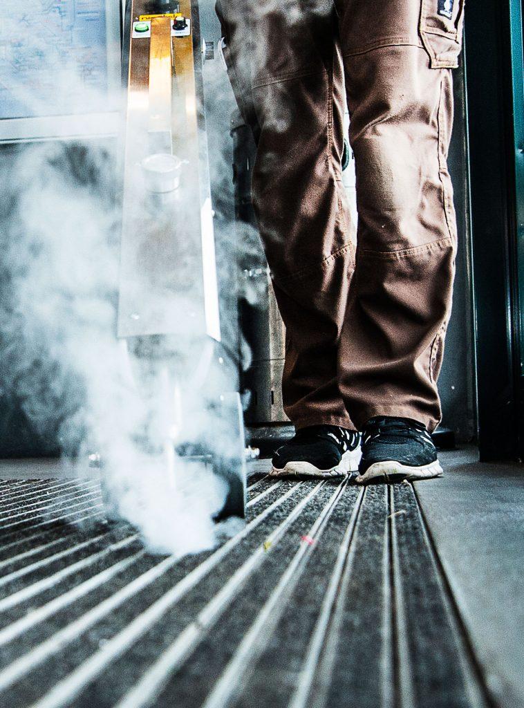 rls Fußbodenreinigung Dampf