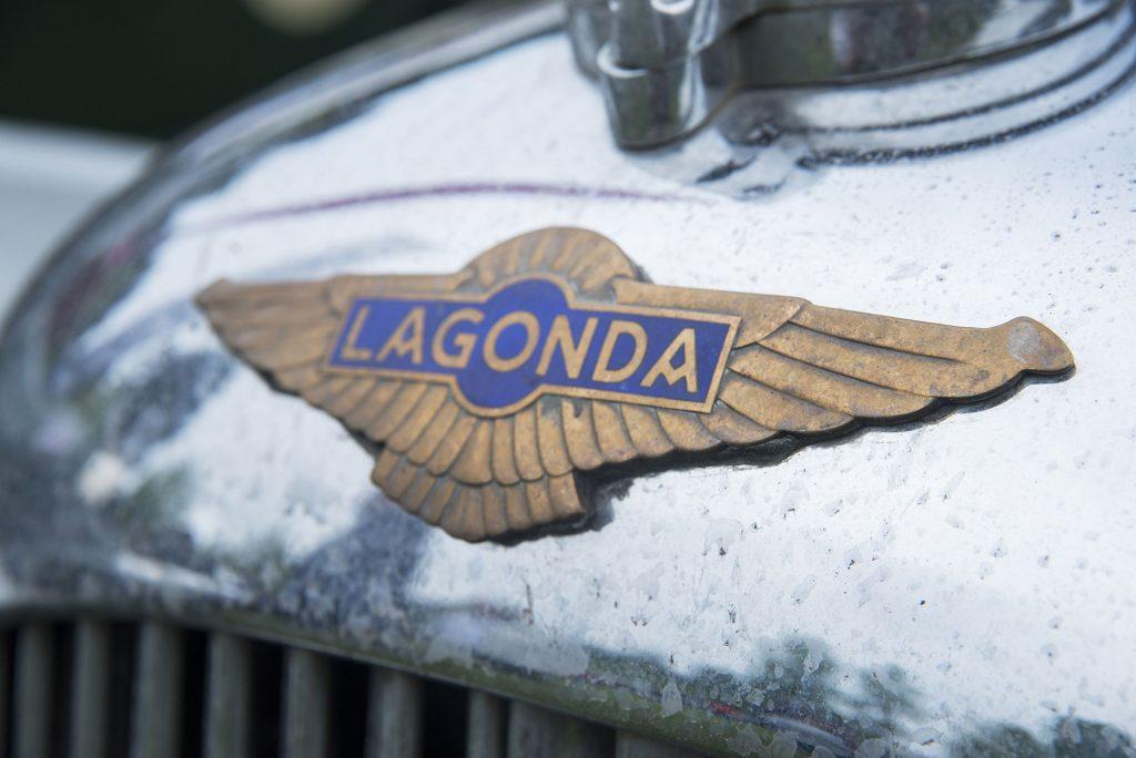 Lagonda Oldtimer Logo Fotodesign