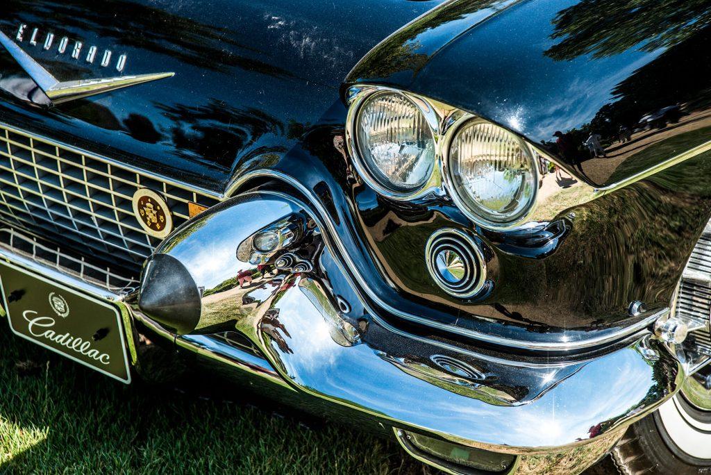 Eldorado Cadillac Oldtimer Fotografie Stoßstange und Lichter