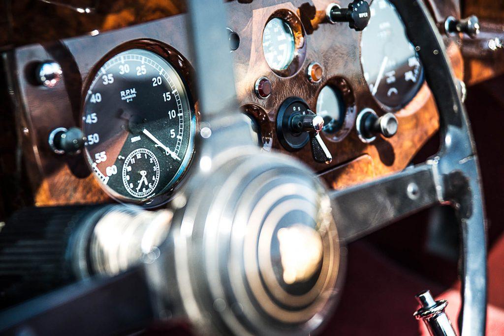 Oldtimer Cockpit Fotografie