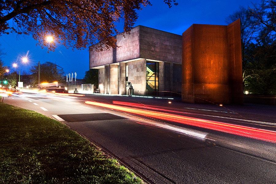 Outdoor Fotografie Autolichter bei Nacht