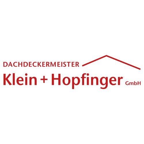 Klein + Hopfinger Dachdeckermeister Logo