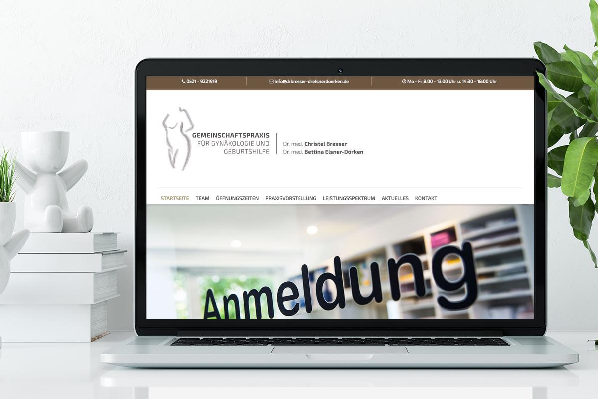 Fachärztinnen für Gynäkologie und Geburtshilfe Dr. med. Christel Bresser und Dr. med. Bettina Elsner-Dörken