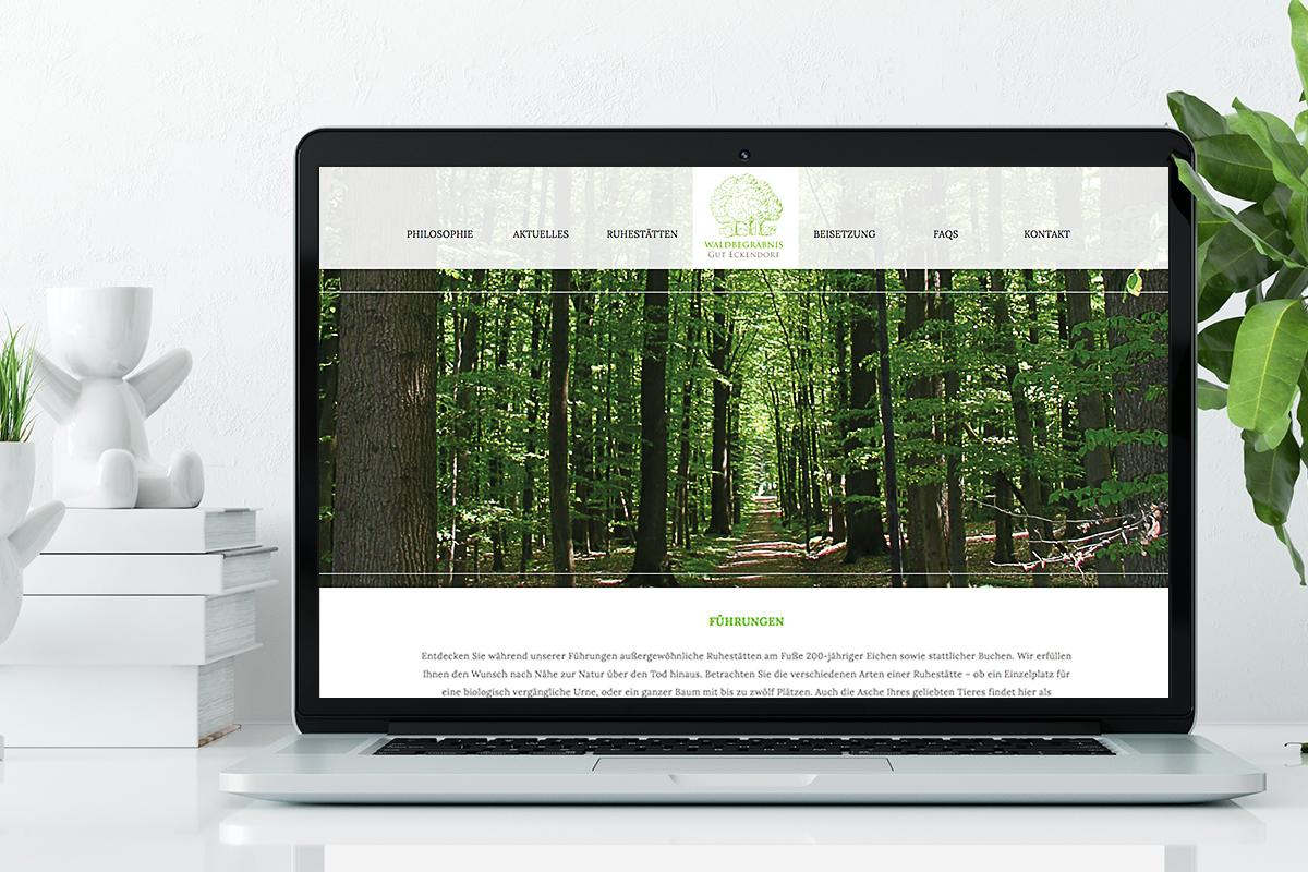 Waldbegräbnis Gut Eckendorf